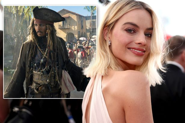 Margot Robbie to star in The Pirates of the Caribbean Franchise