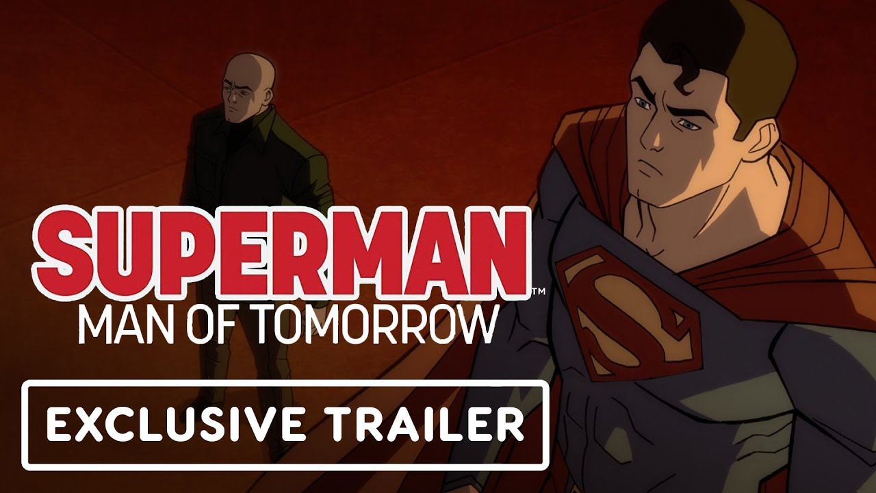 Animated Trailer: Superman: Man of Tomorrow