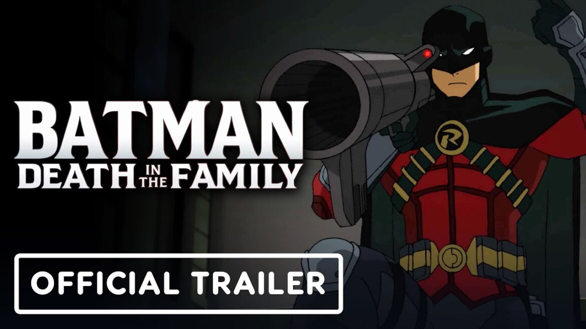 Animated Movie- DC Showcase's Batman: Death in the Family