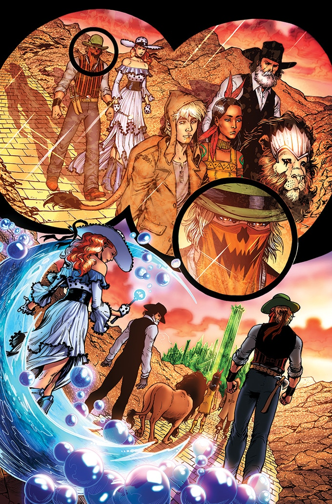Comic Review: The Legend of Oz: The Wicked West 1920