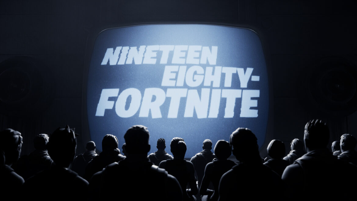 Fortnite Nineteen Eight Video Mocks Apple After Dispute
