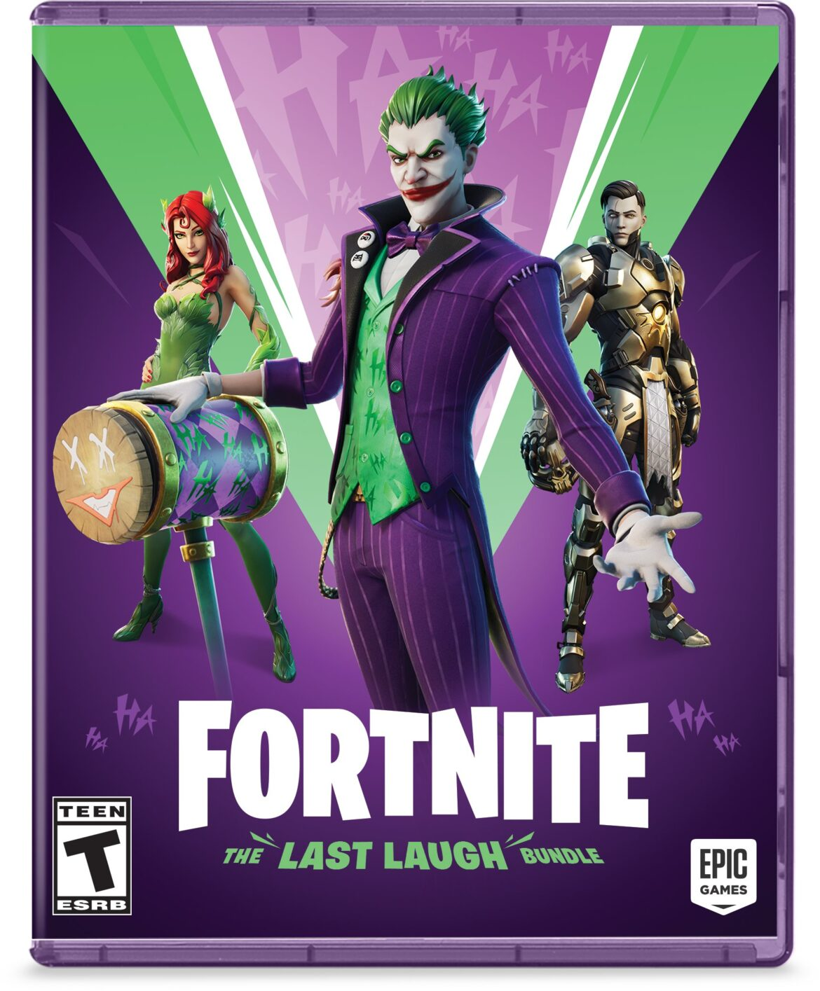 Joker and Poison Ivy Added to Fortnite in November