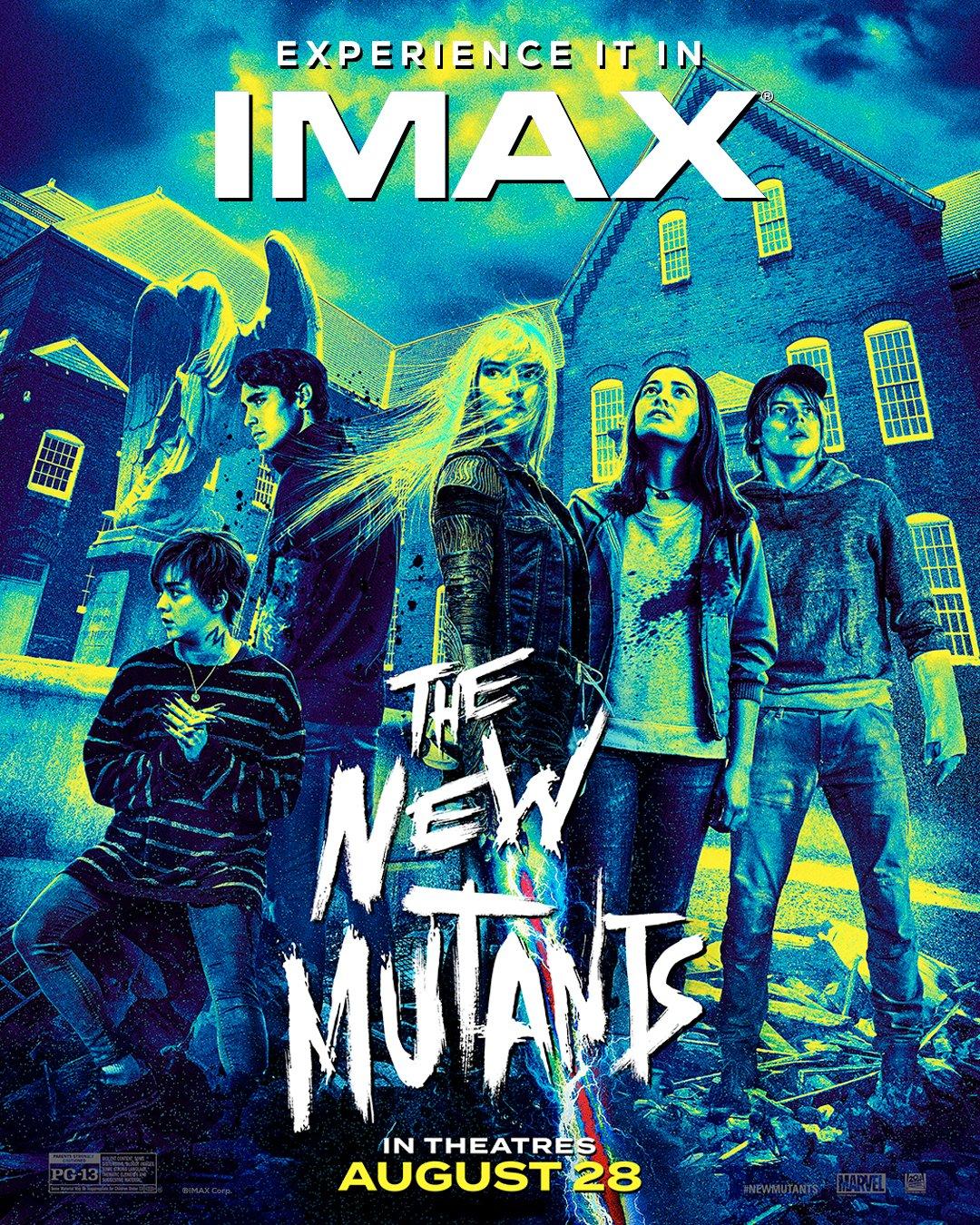New Mutants IMAX poster