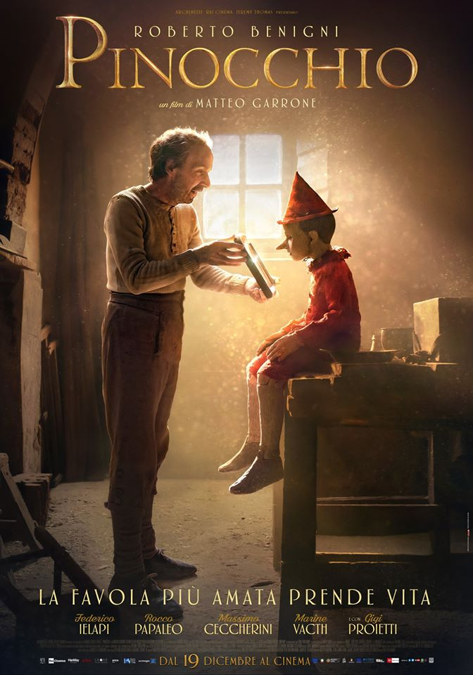 Movie Trailer: PINOCCHIO (Live Action)