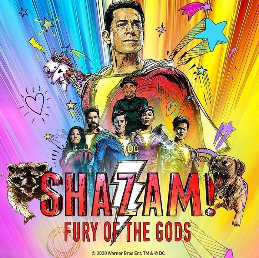 SHAZAM! : Fury of the Gods Poster