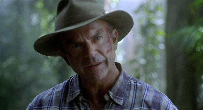 Sam Neill Tweets about Jurassic World