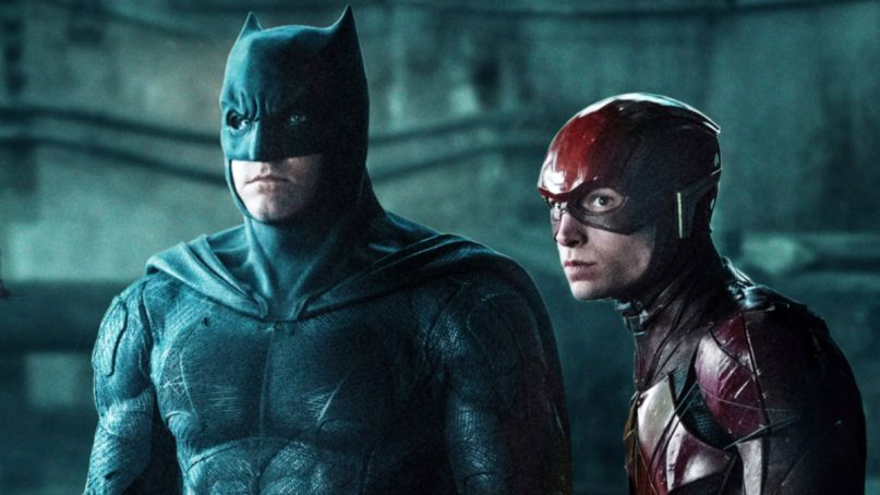 The Flash Movie Will Have Affleck and Keaton