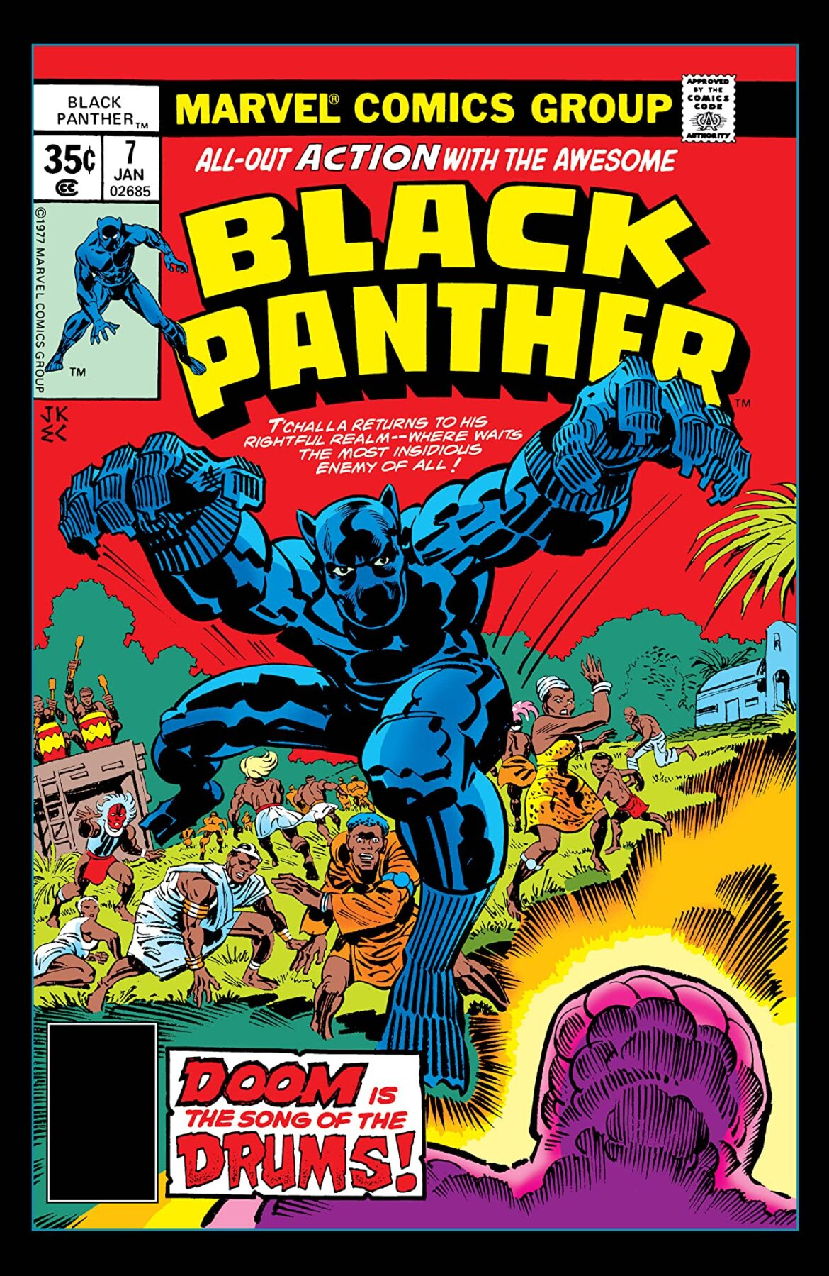 Individual Black Panther Comics Free on Comixology