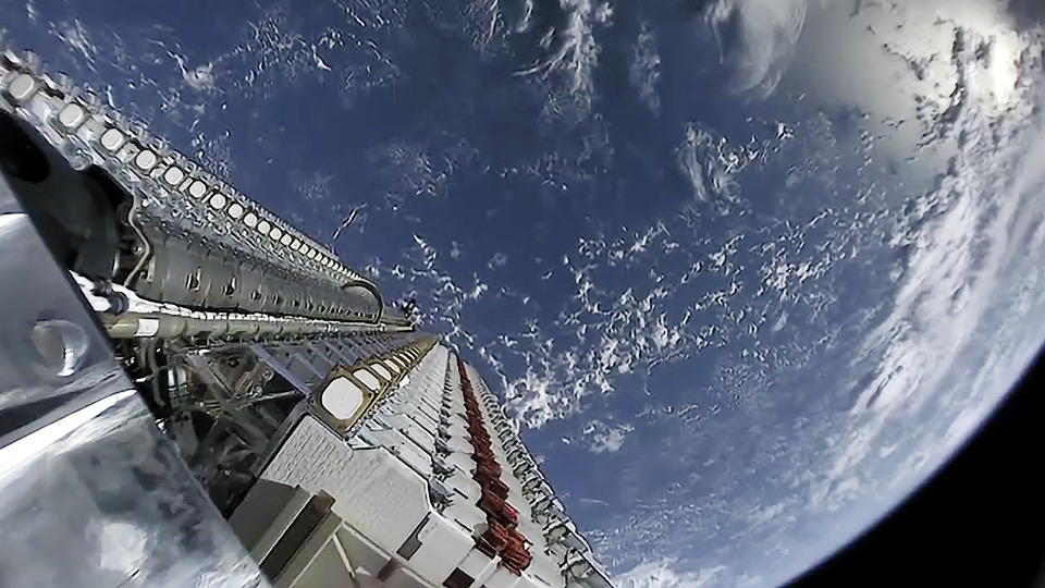 Starlink Satellite Internet Comes Online