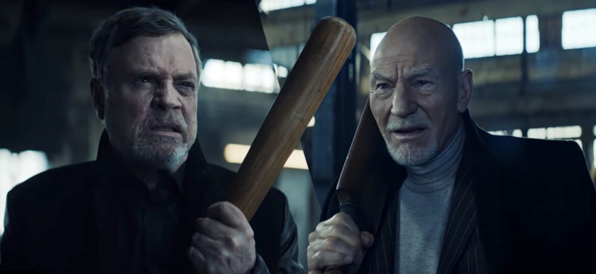 Mark Hamill and Patrick Stewart: UberEats Commercials