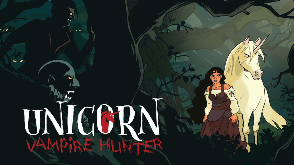 Kickstarter: Comic Book- Unicorn: Vampire Hunter
