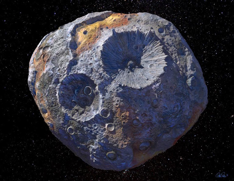 NASA Announcement: Metal Asteroid & Runaway Planet