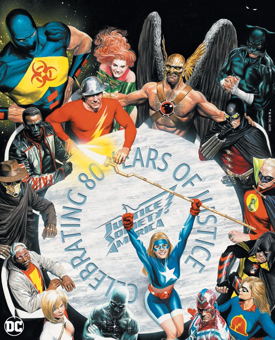 Justice Society of America Turns 80 Years Old