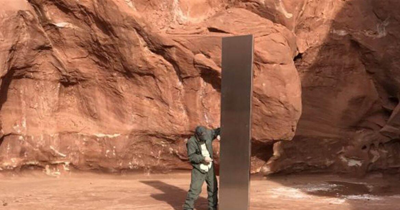 Giant Metal Monolith Found In Utah