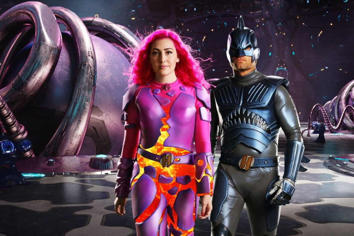 Sharkboy and Lavagirl are Parents of New Hero