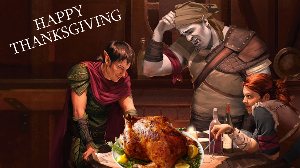 Happy Thanksgiving From Geeky KOOL and WKRP