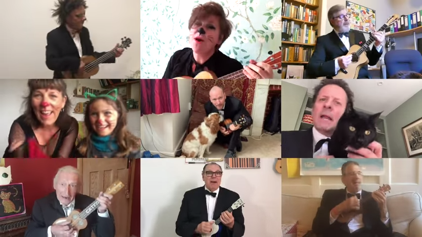 Video: The Lovecats – Ukulele Orchestra of Great Britain