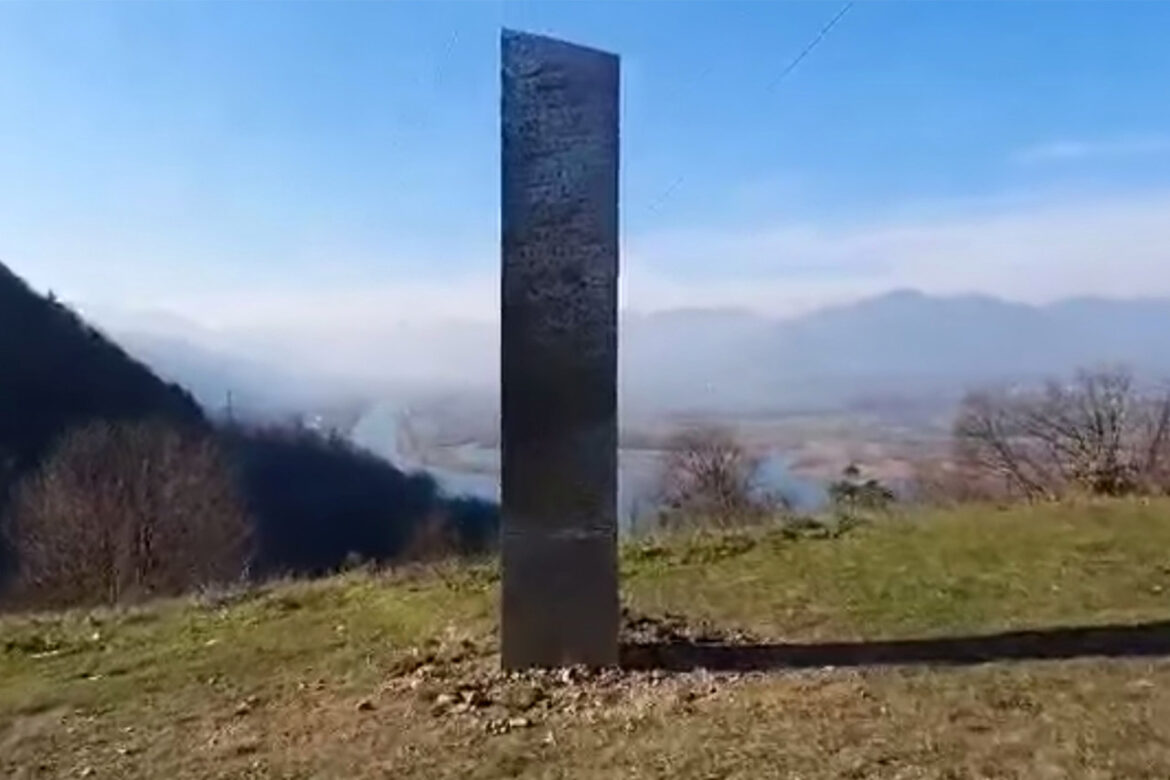 Another Monolith Found- In Romania