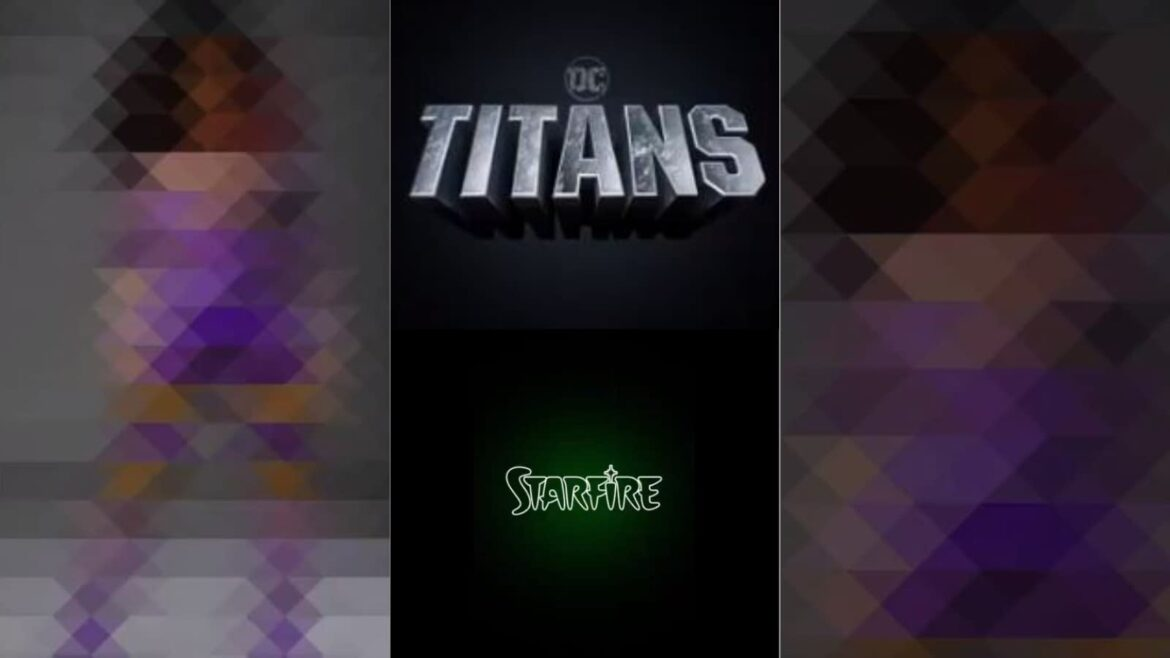 Titans on HBO Teases Starfire