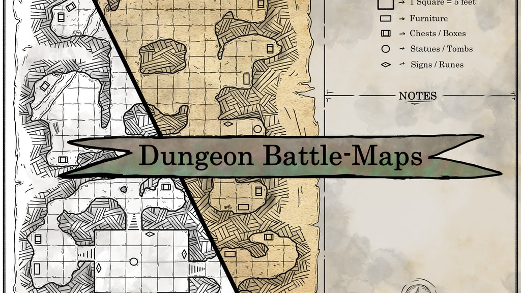 Kickstarter: Dungeon Battle-Maps