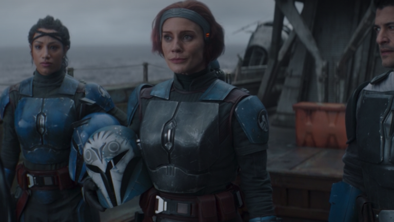 Katee Sackhoff Loves Being Bo-Katan