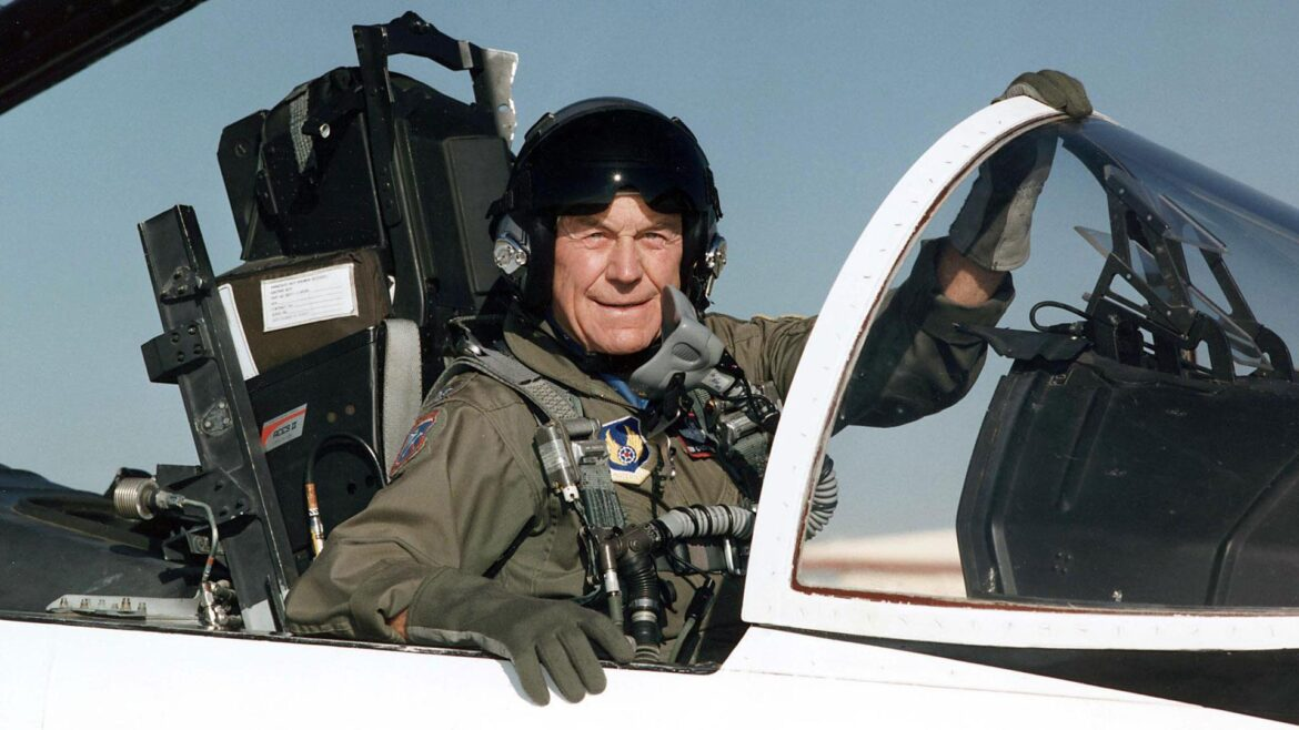 General Chuck Yeager passes away at 97. First man to break the sound barrier