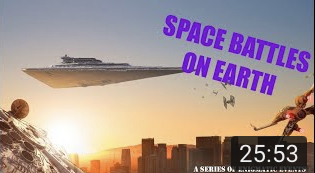 Space Battles on Earth?? A Series of Enigmatic Events episode