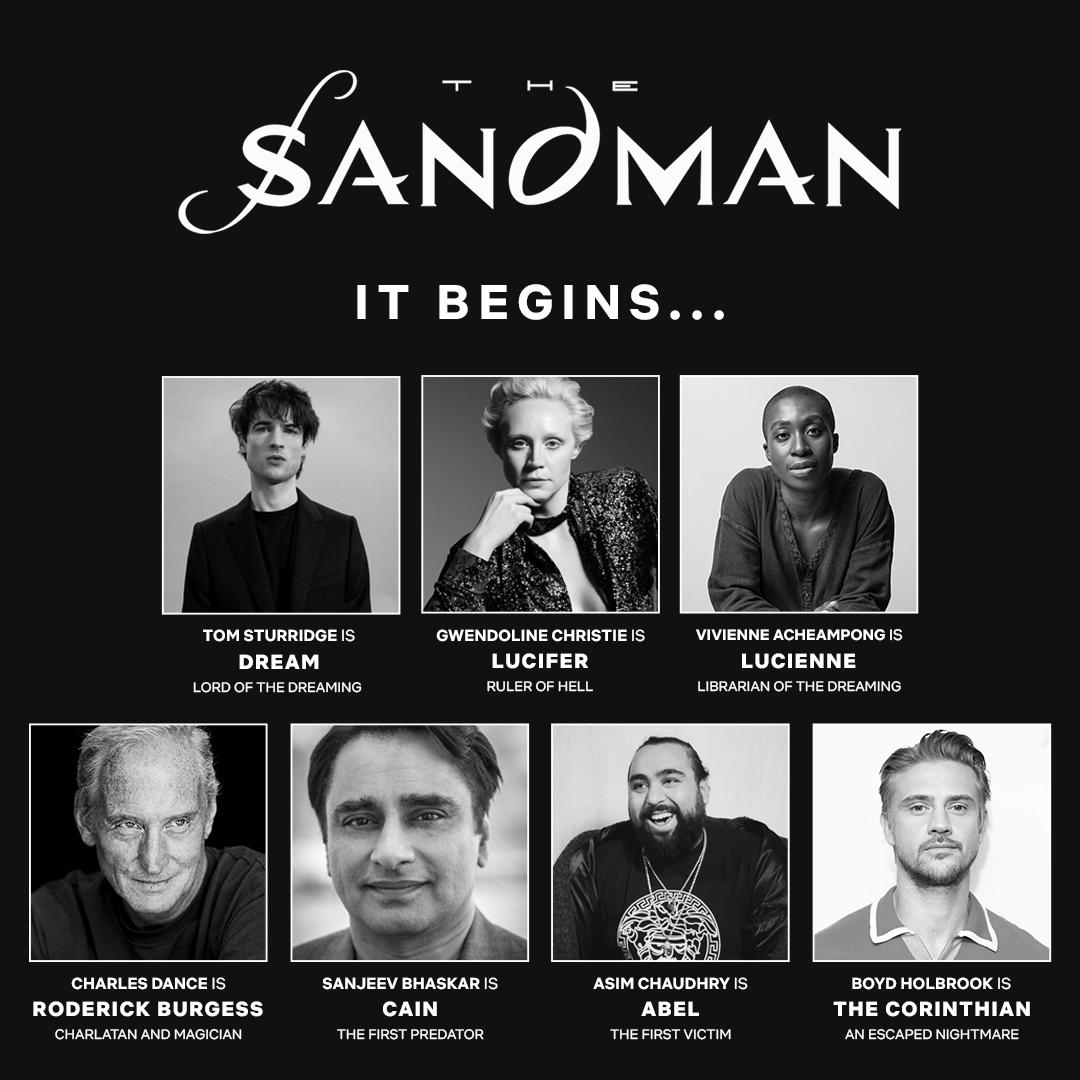 Netflix Sandman Series Cast Revealed