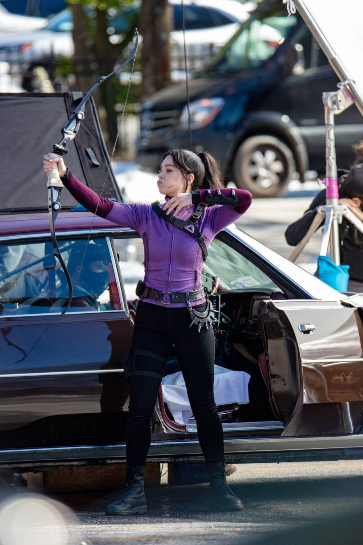 Hawkeye Set Photos