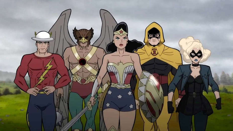 Animated Trailer- Justice Society: World War II