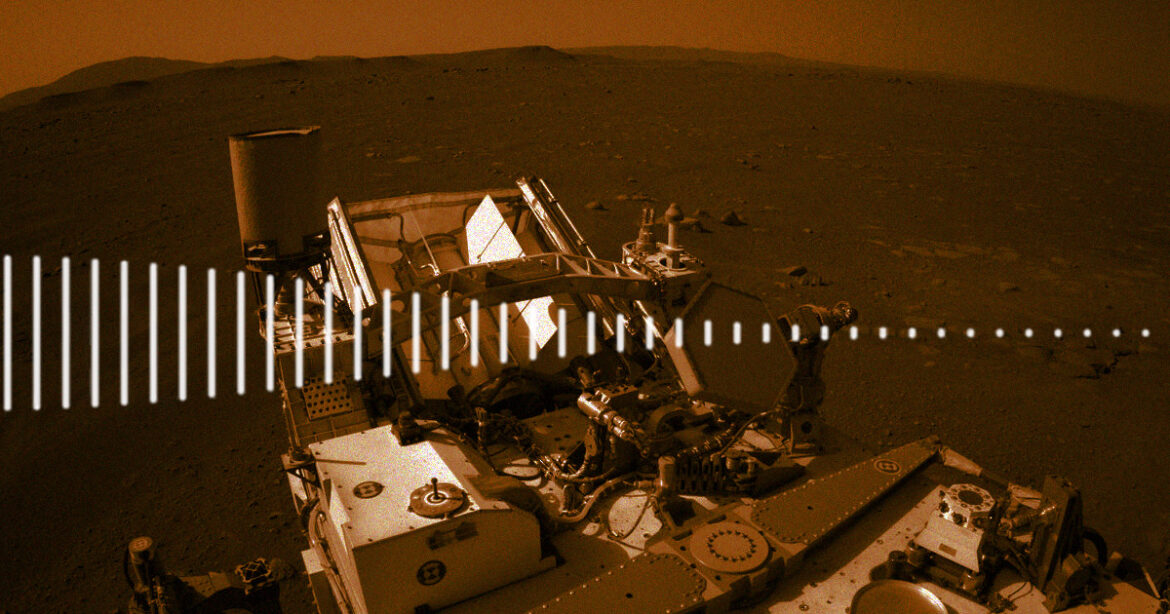 Perseverance Rover Records First Sounds of Mars