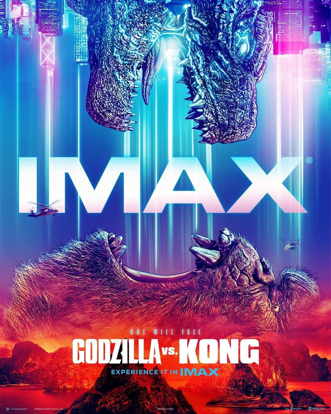 IMAX Poster: Godzilla VS Kong