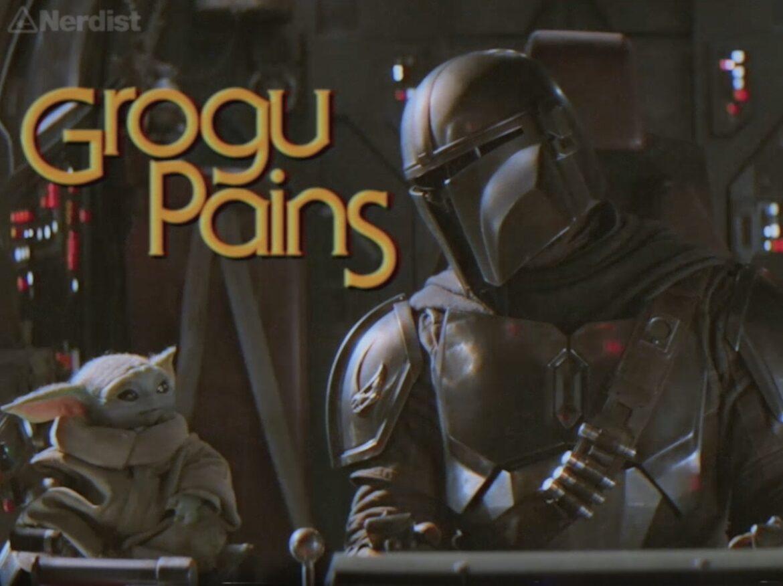 Grogu Pains – a '90s Mandalorian Sitcom