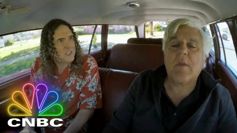 Video: Jay Leno And Weird Al Take A Stroll Down Memory Lane