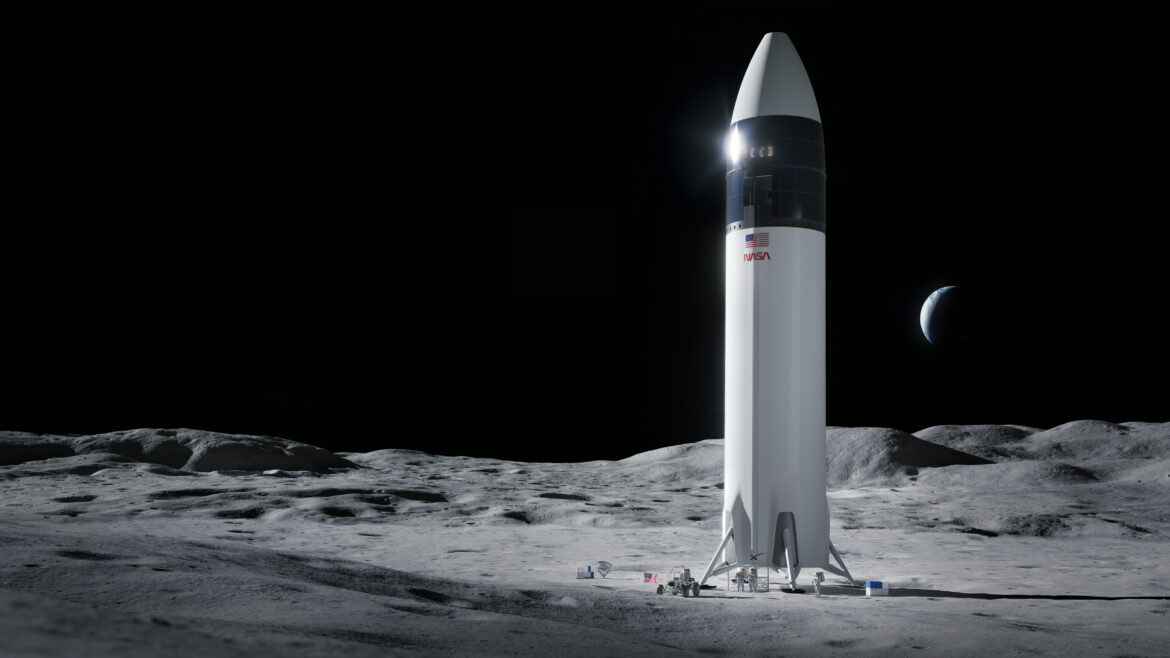 NASA Picks SpaceX for Moon Landing Artemis Human Lunar Lander