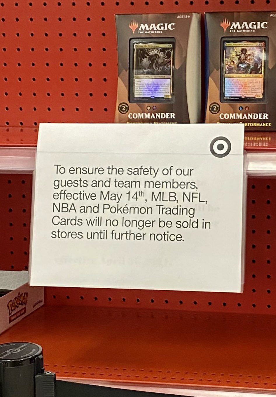 What Is Up with the Trading Cards Sales Ban?