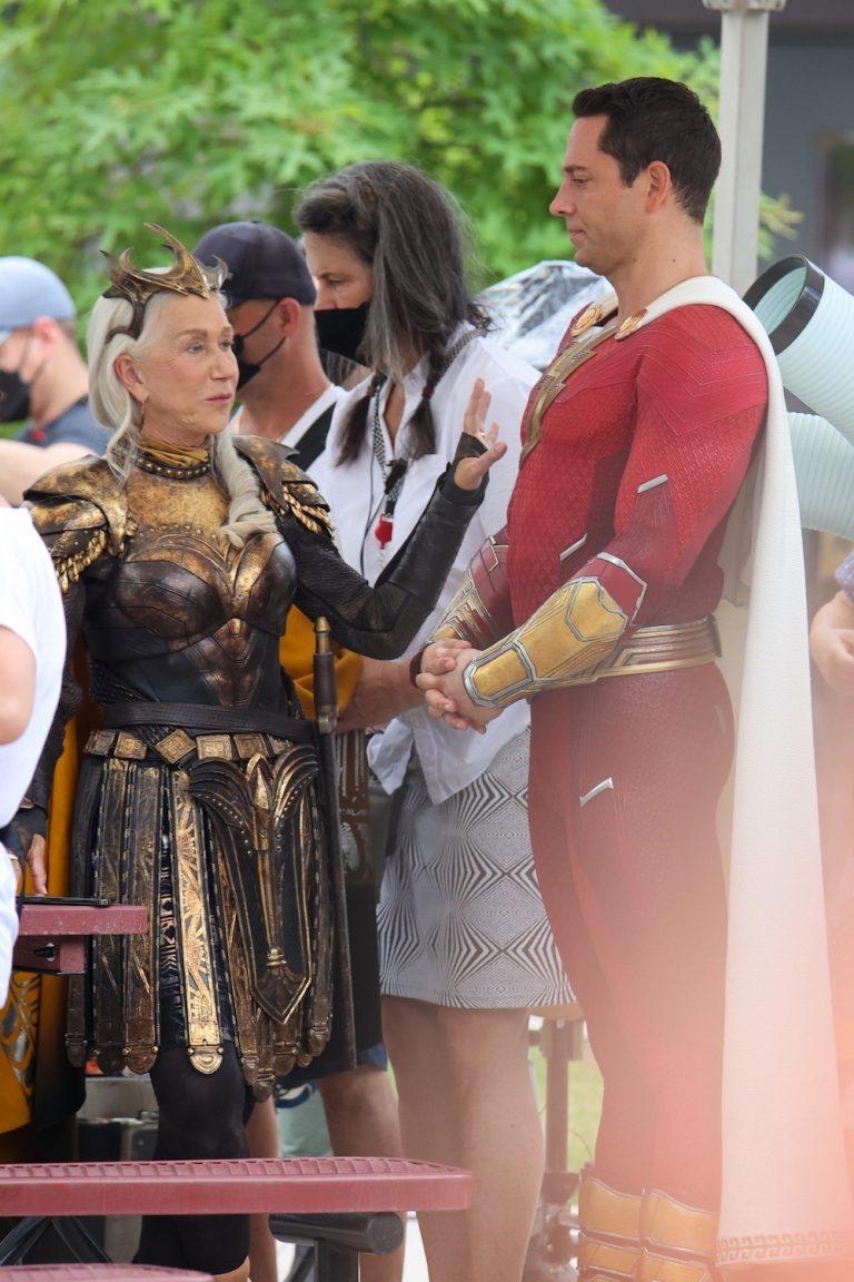Image: Helen Mirren on Shazam! Fury of the Gods