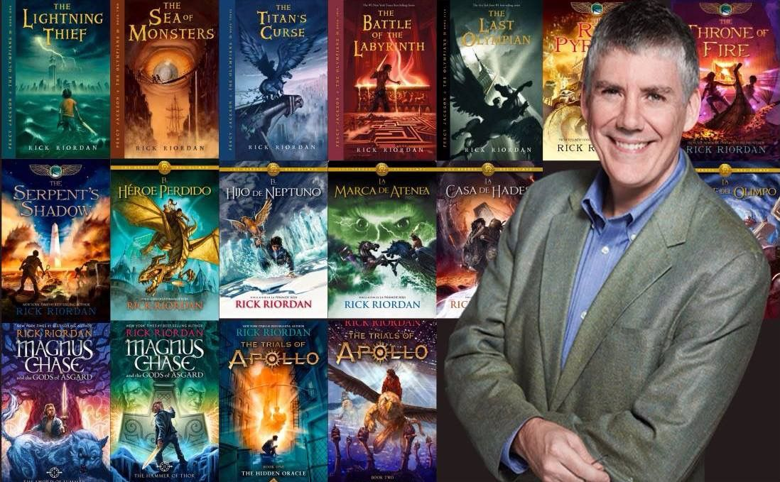 """Rick Riordan's Latest Book, """"Daughter of the Deep,"""" Cover Reveal!"""