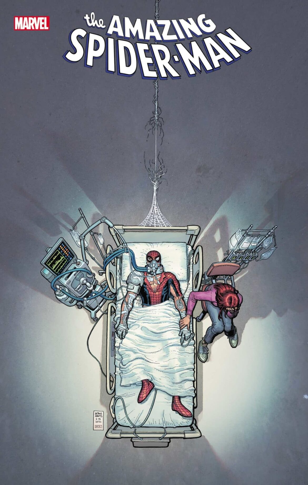 Amazing Spider-Man #76 Cover Teases Peter's Death