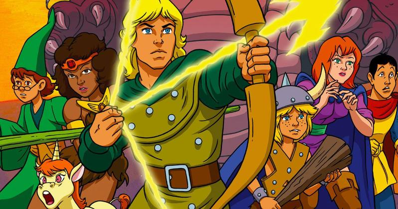 New Dungeons & Dragons Adventure Links back to 80s Cartoon