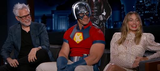Margot Robbie, John Cena & James Gunn on Jimmy Kimmel