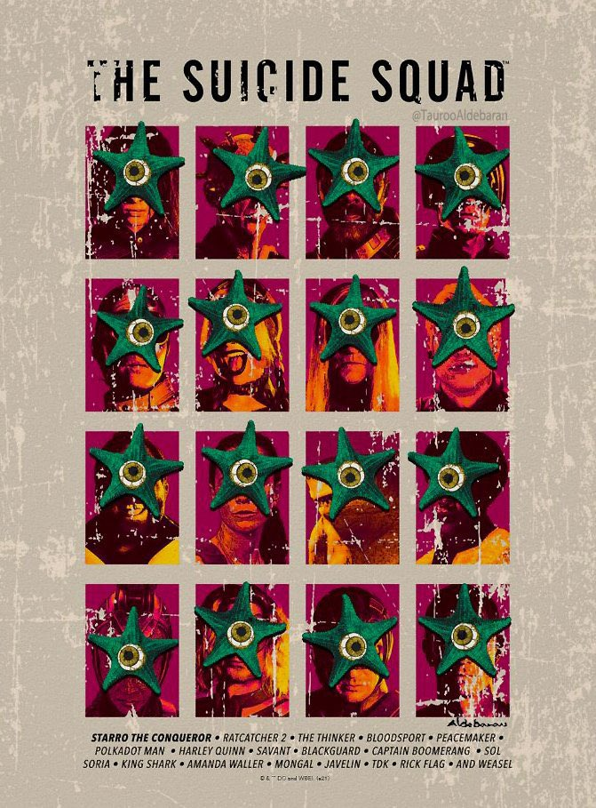 Poster: The Suicide Squad – Starro