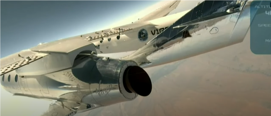 Virgin Galactic and founder Richard Branson successfully touch space.