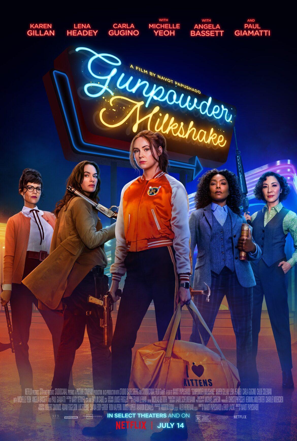 Gunpowder Milkshake – a fun movie to pass the time.