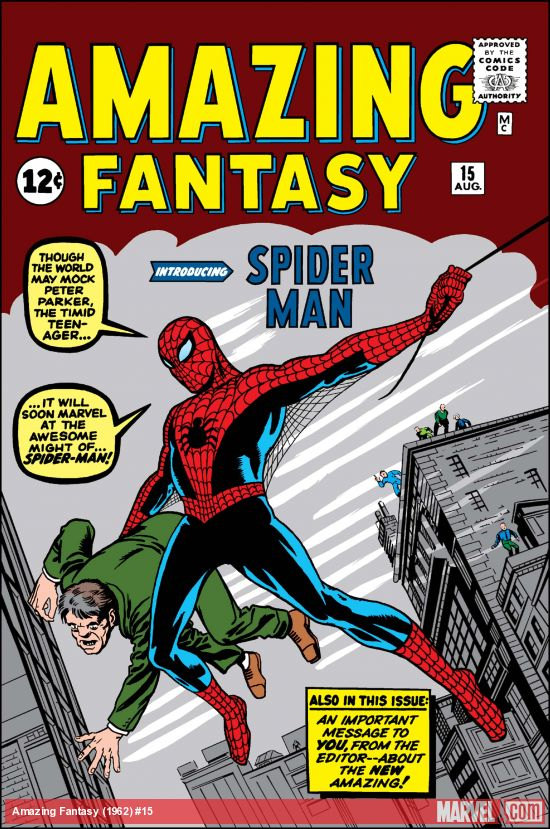 Happy 59th Anniversary for Spider-Man