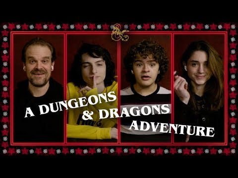 Video: A Dungeons & Dragons Adventure – Stranger Things